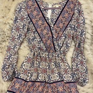 Francesca's Long-Sleeved Romper